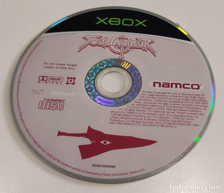 JUEGO CONSOLA MICROSOFT XBOX ORIGINAL CLASICA PRIMERA GENERACION SOUL CALIBUR 2 , LEER DESCRIPCION (Juguetes - Videojuegos y Consolas - Microsoft - Xbox)