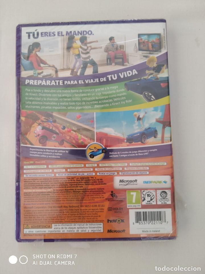 Videojuegos y Consolas: Juegos Xbox 360 Kinect,Joy Ride(precintado) y kinect Adventures,como nuevo - Foto 3 - 243125420