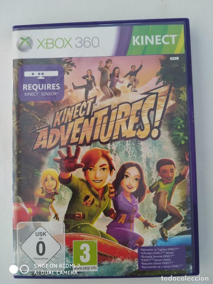 Videojuegos y Consolas: Juegos Xbox 360 Kinect,Joy Ride(precintado) y kinect Adventures,como nuevo - Foto 4 - 243125420