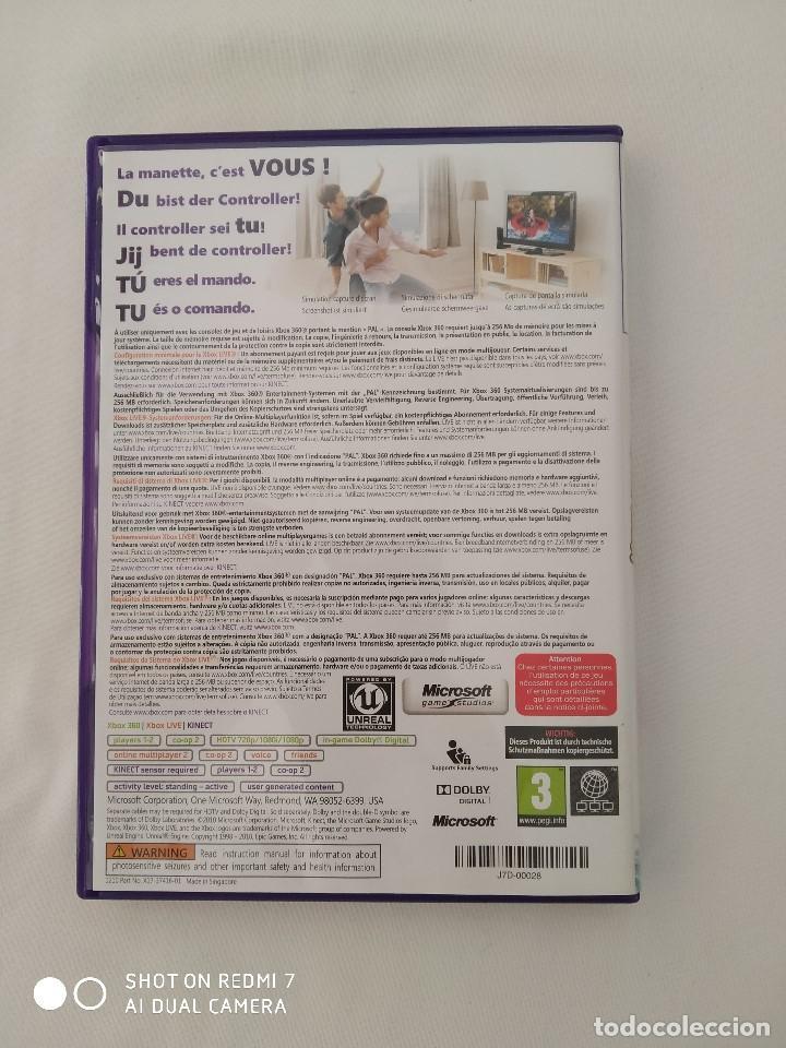 Videojuegos y Consolas: Juegos Xbox 360 Kinect,Joy Ride(precintado) y kinect Adventures,como nuevo - Foto 6 - 243125420
