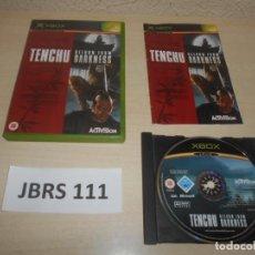 Videojuegos y Consolas: XBOX - TENCHU - RETURN IRON DARKNESS , PAL UK , COMPLETO. Lote 244636795