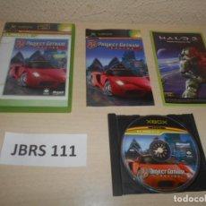 Videojuegos y Consolas: XBOX - PROJECT GOTHAN RACING 2 , PAL ESPAÑOL , COMPLETO. Lote 244636850