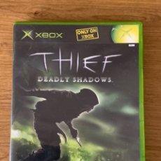 Videojuegos y Consolas: THIEF DEADLY SHADOWS XBOX VERSION UK. Lote 245001090