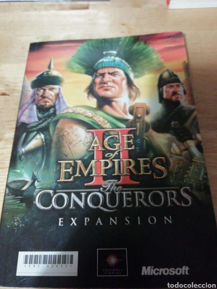 MANUAL AGE OF EMPIRES II THE CONQUERORS EXPANSION - THE AGE OF KINGS - MICROSOFT 2000 (Juguetes - Videojuegos y Consolas - Microsoft - Xbox)