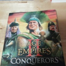Videojuegos y Consolas: MANUAL AGE OF EMPIRES II THE CONQUERORS EXPANSION - THE AGE OF KINGS - MICROSOFT 2000. Lote 249395625