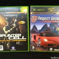 Videojuegos y Consolas: 2 JUEGOS XBOX, SPLINTER CELL Y PROJECT GOTHAM RACING 2. Lote 253639265