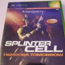 Videojuegos y Consolas: TOM CLANCY'S PANDORA TOMORROW - XBOX. Lote 256051910