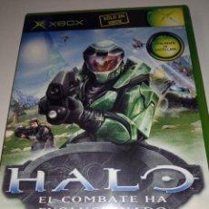 Videojuegos y Consolas: HALO EL COMBATE HA EVOLUCIONADO - XBOX. Lote 256052220