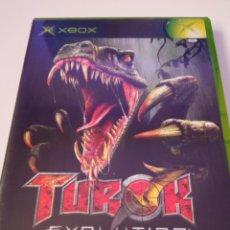 Videojuegos y Consolas: TUROK EVOLUTION - XBOX. Lote 256052385