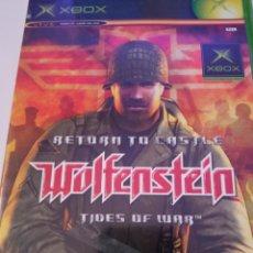 Videojuegos y Consolas: RETURN TO CASTLE WOLFENSTEIN - XBOX. Lote 256052670