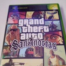 Videojuegos y Consolas: GRAND THEFT AUTO SAN ANDREAS - XBOX. Lote 256053155