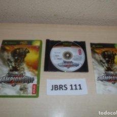 Videojuegos y Consolas: XBOX - UNREAL CHAMPIONSHIP , PAL ESPAÑOL , COMPLETO. Lote 261942665