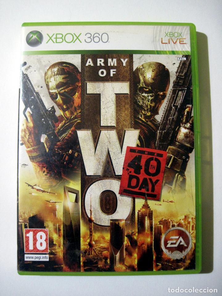 ARMY OF TWO • X-BOX 360 (PAL) (Juguetes - Videojuegos y Consolas - Microsoft - Xbox)