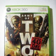 Videojuegos y Consolas: ARMY OF TWO • X-BOX 360 (PAL). Lote 262649165