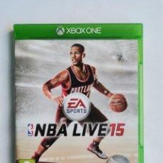 Videojuegos y Consolas: NBA LIVE 15 XBOX. Lote 263146845