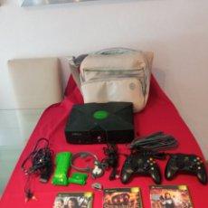 Videogiochi e Consoli: LOTE CONSOLA XBOX COMPLETA Y JUEGOS LEER DESCRIPCIÓN. Lote 265115894