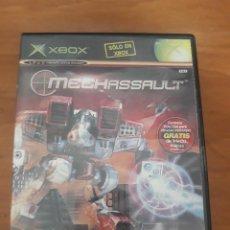 Videogiochi e Consoli: MECHASSAULT XBOX ESPAÑOL COMPLETO. Lote 267445339