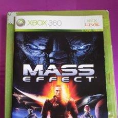 Videojuegos y Consolas: XBOX 360 MASS EFFECT SÓLO PORTADA SIN CD!!. Lote 268748709
