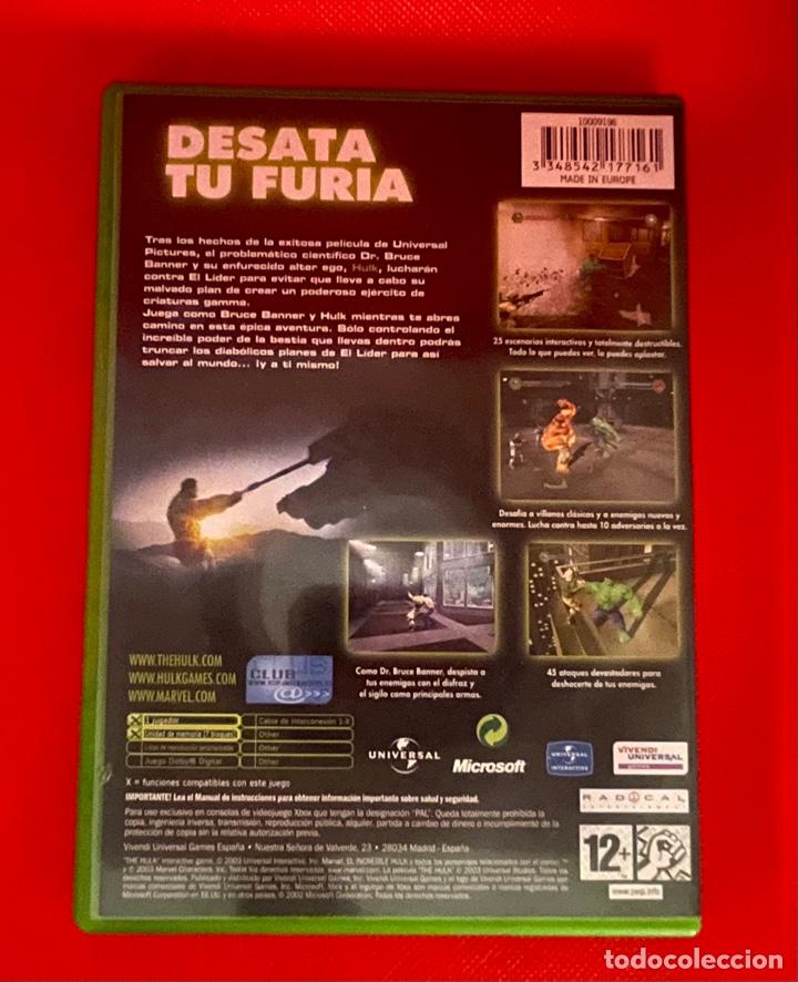 Videojuegos y Consolas: HULK Xbox (la clasica) pal España y completo - Foto 2 - 270632203