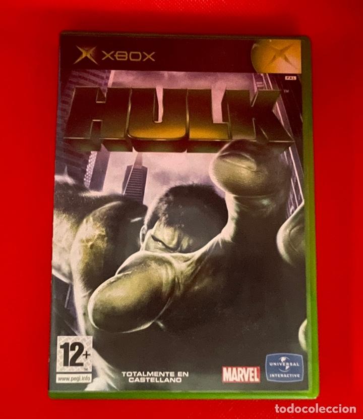 HULK XBOX (LA CLASICA) PAL ESPAÑA Y COMPLETO (Juguetes - Videojuegos y Consolas - Microsoft - Xbox)