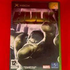 Videojuegos y Consolas: HULK XBOX (LA CLASICA) PAL ESPAÑA Y COMPLETO. Lote 270632203