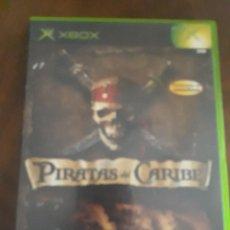 Videojuegos y Consolas: PIRATAS DEL CARIBE XBOX COMPLETO ESPAÑOL. Lote 273105348