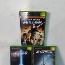 Videojuegos y Consolas: 3 JUEGOS STAR WARS PARA XBOX. Lote 275283893