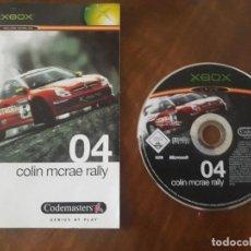 Videojuegos y Consolas: COLIN MCRAE RALLY 04 XBOX ESPAÑOL. Lote 275452428