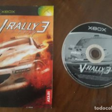 Videojuegos y Consolas: V-RALLY 3 XBOX ESPAÑOL. Lote 275452513