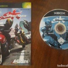 Videojuegos y Consolas: SPEED KINGS XBOX ESPAÑOL. Lote 275452913