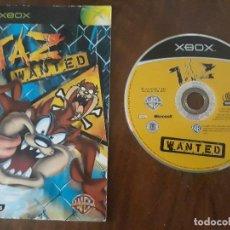 Videojuegos y Consolas: TAZ WANTED XBOX ESPAÑOL. Lote 275452983