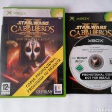 Videojuegos y Consolas: XBOX STAR WARS LOS CABALLEROS. Lote 277224293