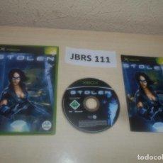Videojuegos y Consolas: XBOX - STOLEN , PAL ESPAÑOL , COMPLETO. Lote 286878793