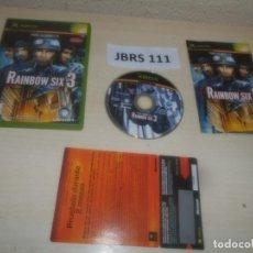 Videojuegos y Consolas: XBOX - RAIMBOW SIX 3 , PAL ESPAÑOL , COMPLETO. Lote 286878848