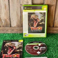 Videojuegos y Consolas: TUROK EVOLUTION XBOX CLASSIC COMPLETO PAL EUROPA. Lote 288686013
