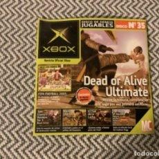 Videojuegos y Consolas: CU3. DEMO XBOX N 35. Lote 289352328
