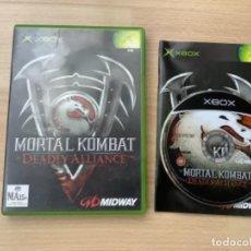 Videojuegos y Consolas: H1. MORTAL KOMBAT DEADLY ALLIANCE XBOX. Lote 289600643