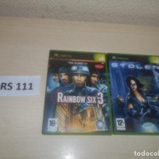 Videojuegos y Consolas: RAIMBOW SIX 3 + STOLEN. Lote 289685788
