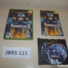 Videojuegos y Consolas: XBOX - RAIMBOW SIX 3 , PAL ESPAÑOL , COMPLETO. Lote 293996683