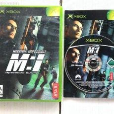 Videojuegos y Consolas: MISSION IMPOSSIBLE OPERATION SURMA MI MISION IMPOSIBLE - XBOX X-BOX KREATEN. Lote 296598763