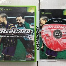 Videojuegos y Consolas: RED CARD SAME GAME DIFFERENT RULES SOCCER FOOTBALL - XBOX X-BOX KREATEN. Lote 296736433