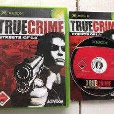 Videojuegos y Consolas: TRUE CRIME STREETS OF LA ACTIVISION - XBOX X-BOX KREATEN. Lote 296736743