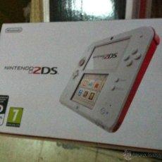 Videojuegos y Consolas Nintendo 2DS: CAJA VACIA NINTENDO 2DS BLANCA ROJA. Lote 51347602