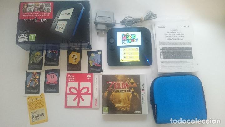 Consola Nintendo 2ds Completa Con 2 Juegos Fund Comprar