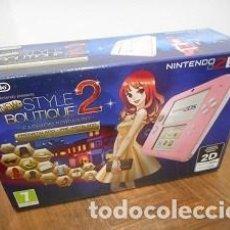 Videojuegos y Consolas Nintendo 2DS: NINTENDO 2DS CON STYLE BOUTIQUE 2 PREINSTALADO.. Lote 126682551