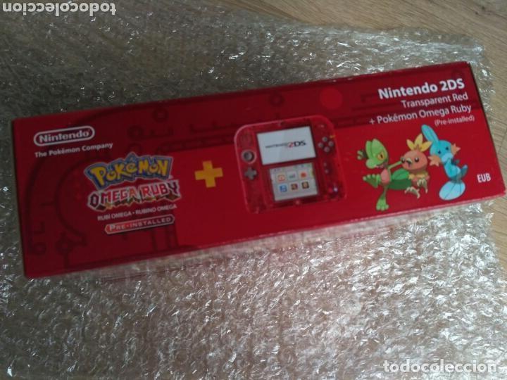 Videojuegos y Consolas Nintendo 2DS: NINTENDO CONSOLA 2DS EDICIÓN POKEMON OMEGA RUBI NUEVA - Foto 5 - 130353610