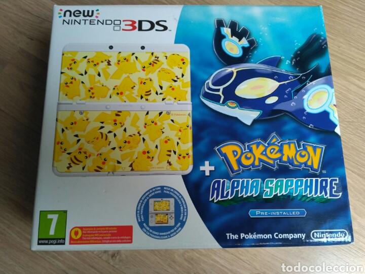 CONSOLA NEW NINTENDO 3DS EDICIÓN POKEMON ALPHA SAPPHIRE NUEVA (Juguetes - Videojuegos y Consolas - Nintendo - 2DS)
