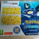 Videojuegos y Consolas Nintendo 2DS: CONSOLA NEW NINTENDO 3DS EDICIÓN POKEMON ALPHA SAPPHIRE NUEVA. Lote 130354158