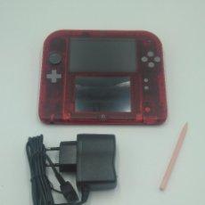 Videojuegos y Consolas Nintendo 2DS: NINTENDO 2DS ROJO TRANSPARENTE. Lote 133387610