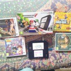 Videojuegos y Consolas Nintendo 2DS: CONSOLA NINTENDO 2 DS EN CAJA EN MUY BUEN ESTADO CON 4 JUEGOS ENTRA Y MIRA LAS FOTOS!!. Lote 140114370